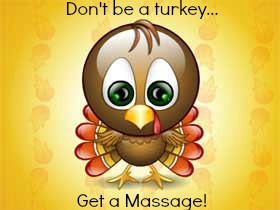 Don't be a turkey….